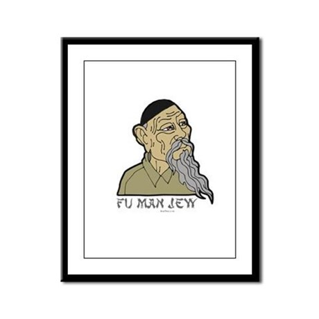 Fu Man Jew Framed Panel Print