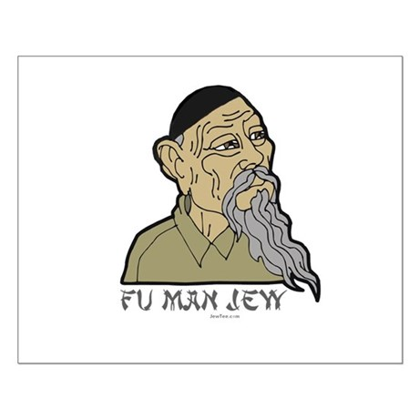 Fu Man Jew Small Poster