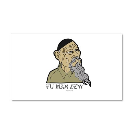 Fu Man Jew Car Magnet 20 x 12