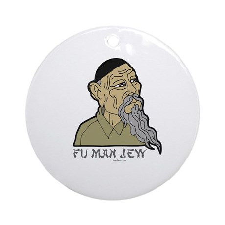 Fu Man Jew Ornament (Round)