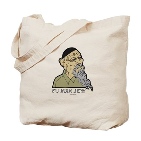 Fu Man Jew Tote Bag