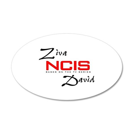 NCIS Ziva David 38.5 x 24.5 Oval Wall Peel