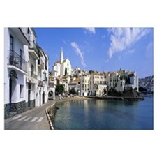 Buildings at the waterfront, Cadaques, Costa Brava
