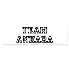 Team Ankara Bumper Bumper Sticker