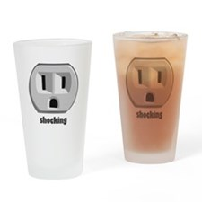 Shocking Wall Outlet Drinking Glass