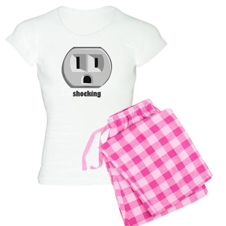 Shocking Wall Outlet Women's Light Pajamas