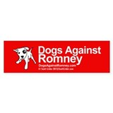 Cute Dogs romney Bumper Sticker