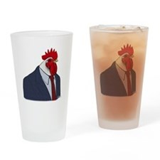 Boss Rooster Drinking Glass