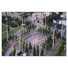 Park, Centennial Olympic Park, Atlanta, Georgia