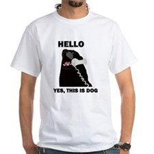 Hello Dog Telephone Phone Shirt