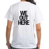 """AK/We Out Here"" Two-sided Shirt"