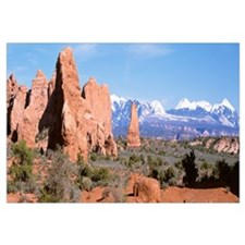 Arches National Park and La Sal Mts Moab UT