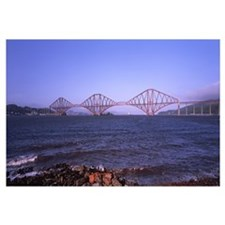 UK, Scotland, South Queensferry, Forth Rail Bridge