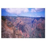 High angle view of canyon, Waimea Canyon, Kauai, H