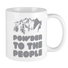 Powder To The People Small Mug