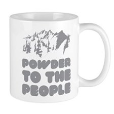 Powder To The People Small Mugs