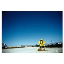 Signboard on a highway, Interstate 40, Needles Air