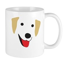 Yellow Lab's Face Mug