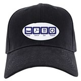 Sleep- Dance- Eat- Repeat Baseball Hat