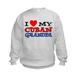 I Love My Cuban Grandpa Sweatshirt