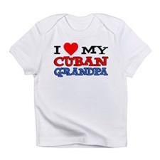 I Love My Cuban Grandpa Infant T-Shirt