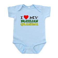 I Love Brazilian Grandma Infant Bodysuit