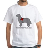 Please Don't Pet Me Dog Logo Shirt