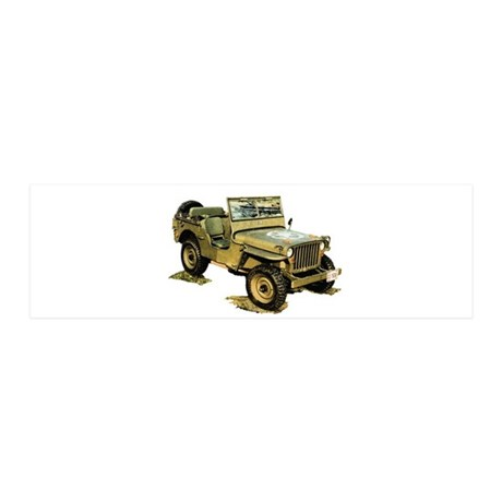 Willys Jeep 21x7 Wall Peel