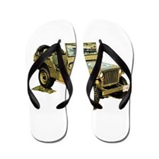 Willys Jeep Flip Flops