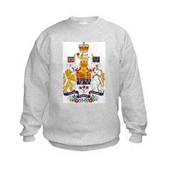 Canada Coat of Arms Kids Sweatshirt