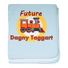 Future Dagny Taggart baby blanket