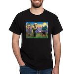 Saint Francis & Airedale Dark T-Shirt