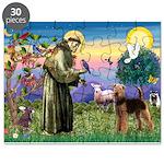 Saint Francis & Airedale Puzzle