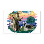 St.Francis #2/ Beardie (sw) 22x14 Wall Peel