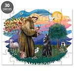 St Francis #2/ B Shepherd Puzzle
