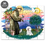 St Francis #2/ Bichon #1 Puzzle
