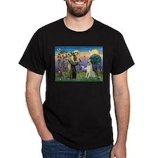 St Francis & Borzoi T-Shirt