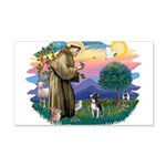 St Francis #2/ Boston Ter 22x14 Wall Peel