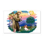 St.Francis #2/ Cavalier (bl) 22x14 Wall Peel