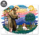 St.Francis #2/ Cavalier (bl) Puzzle