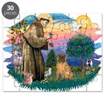 St.Francis #2/ Shar Pei (#3) Puzzle