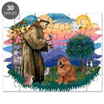 St Francis #2/ Chow (R) Puzzle