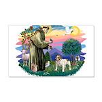 St Francis #2/ Eng Bulldog 22x14 Wall Peel