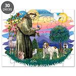 St Francis #2/ Eng Bulldog Puzzle