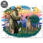 St.Fran. #2/ Great Dane (nat) Puzzle