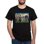 Saint Francis' Great Dane Dark T-Shirt