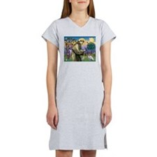 Cute Parsons jack russell note Women's Nightshirt