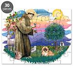St.Francis #2 / Pekingese #1 Puzzle