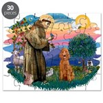 St.Fran #2/ Poodle (Std-ap) Puzzle