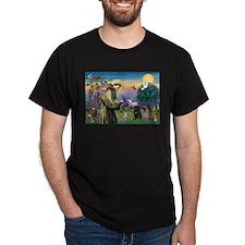 Saint Francis & Two Pugs T-Shirt